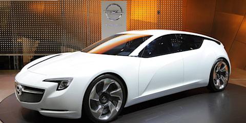 Opel Flextreme GT/E concept - Geneva 2010