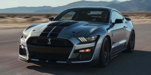 2020 Ford Mustang Shelby GT500 unveiled