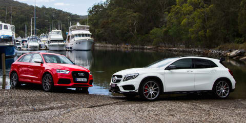Audi RSQ3 v Mercedes-Benz GLA45 AMG : Comparison review