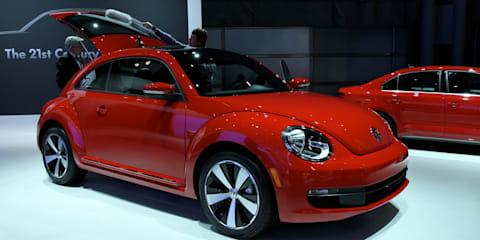 2012 Volkswagen Beetle Unveiled in New York