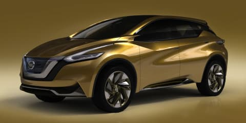 Nissan Resonance concept teases 2014 Murano