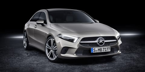 2019 Mercedes-Benz A-Class Sedan revealed, here in Q2 2019