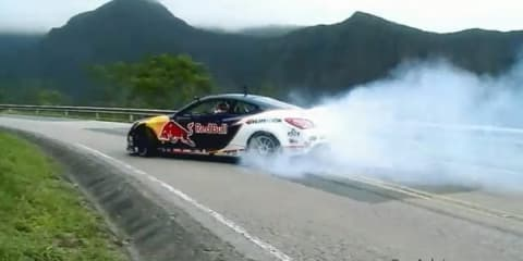 Video: Rhys Millen Climb Attack drift in 560kW Hyundai Genesis Coupe