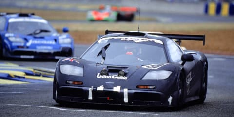 1995 McLaren F1 GTR at full noise – video