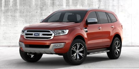 Medium and large SUVs coming in 2015