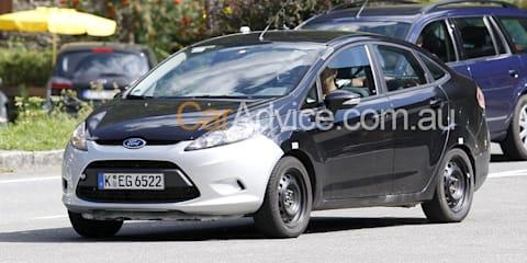 2010 Ford Fiesta Sedan - Spy Pics