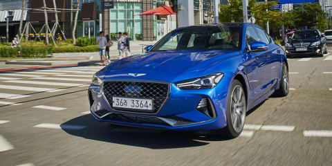 Genesis G70: Manual on the cards for right-hand drive markets