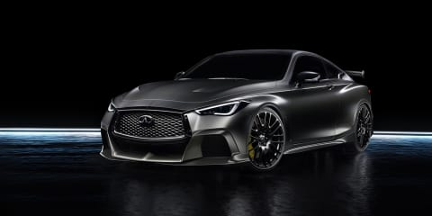 Infiniti Australia keen on Q60 performance hero