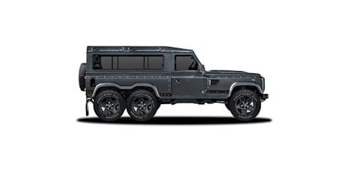 Kahn Flying Huntsman 6x6 Land Rover Defender concept heading to Geneva