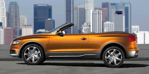 Audi Cross Cabriolet quattro concept car