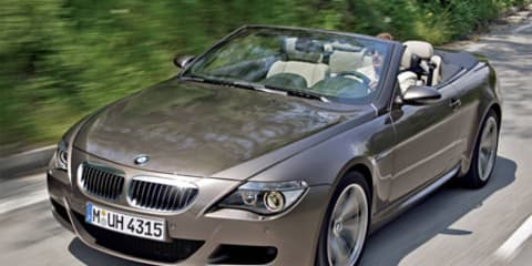 BMW M6 Convertible Confirmed