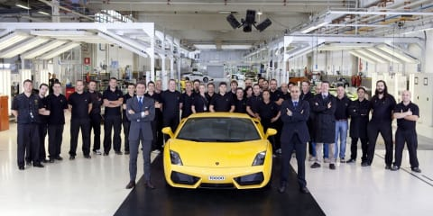 Lamborghini rolls out 10,000th Gallardo