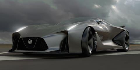 Nissan Concept 2020 Vision Gran Turismo teases company's supercar future