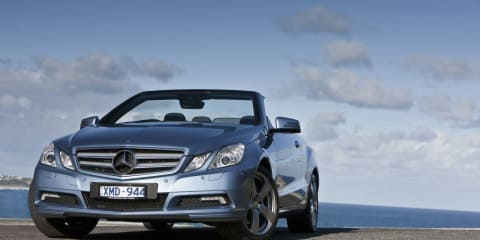 2010 Mercedes-Benz E-Class Cabriolet released in Australia
