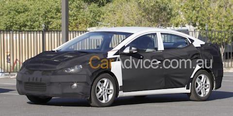 2011 Hyundai Elantra spy pics