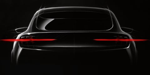 Ford 'Mach 1' electric crossover teased