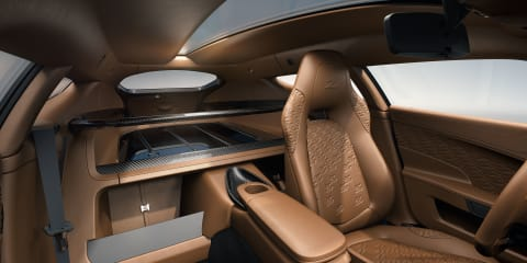 Aston Martin Vanquish Zagato Shooting Brake interior revealed