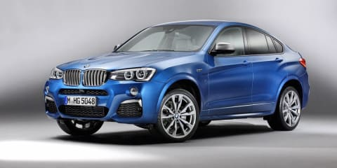 BMW X4 M40i images and details leaked