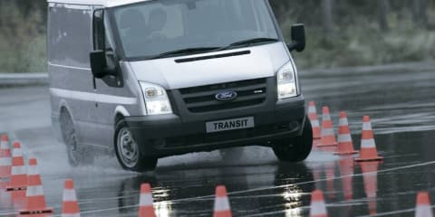 Ford Transit production in China also stopped due to pedal issues