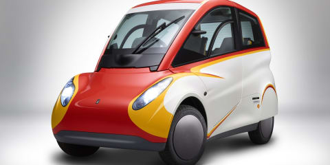 Shell unveils ultra-efficient city car concept