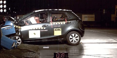 2011 Mazda2 Maxx, Genki earn five-star ANCAP safety rating