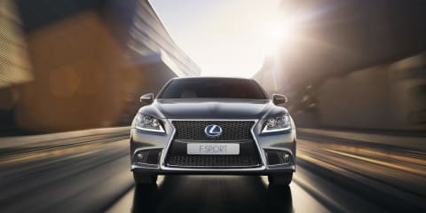 Lexus LS600h F Sport: flagship sports hybrid confirmed for Australia