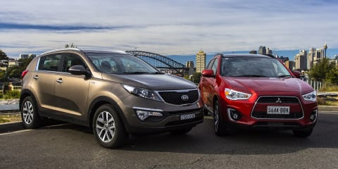 Kia Sportage v Mitsubishi ASX: Comparison review