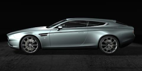 Aston Martin Virage Shooting Brake Zagato revealed