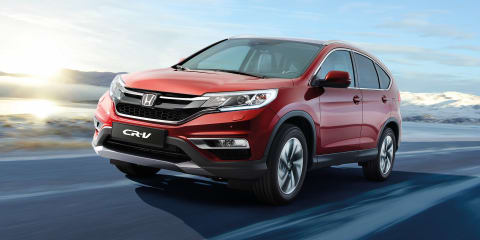 Honda CR-V: European model to debut predictive cruise control in 2015