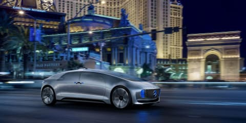 Mercedes-Benz F015 Luxury in Motion autonomous concept unveiled at CES