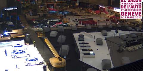Geneva Motor Show launches live web cams
