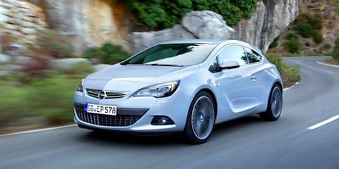 Opel Astra GTC joins Australian launch range