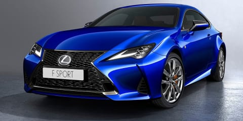 2019 Lexus RC revealed - UPDATE