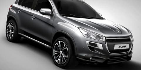 Peugeot 4008 revealed, on sale in Australia second quarter of 2012