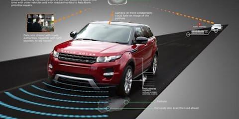 Jaguar Land Rover teases new Pothole Alert system