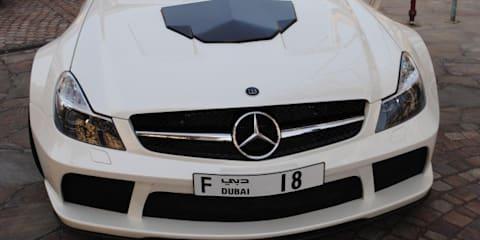 Mercedes-Benz SL 65 Black Series-based Brabus Stealth 65