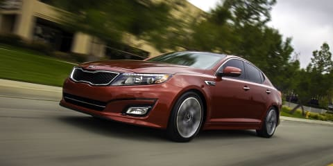 Kia Optima: mid-life facelift debuts