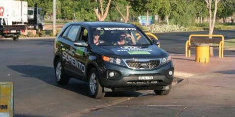 Kia Sorento diesel leads in Global Green Challenge