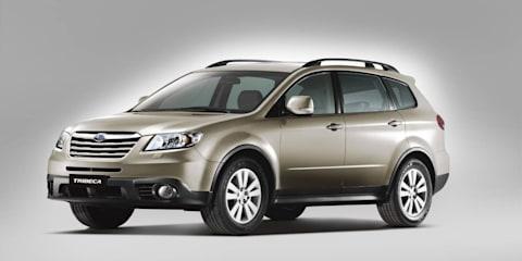 2014 Subaru Tribeca to share Toyota Kluger platform: report