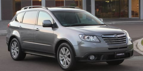 Subaru Tribeca axed as company plans new seven-seater