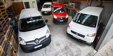 Light Van Comparison : Fiat Doblo v Renault Kangoo v Suzuki APV v Volkswagen Caddy