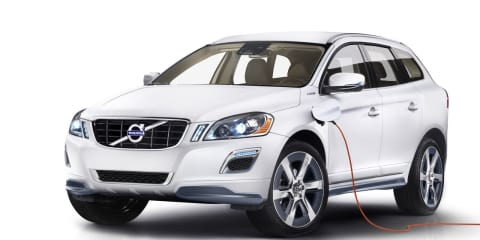 Volvo to unveil XC60 Plug-in Hybrid Concept at Detroit show