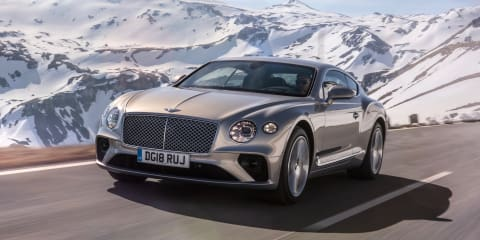 2018 Bentley Continental GT in numbers