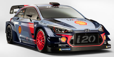 2017 Hyundai i20 WRC challenger unveiled: More aero, more power for rally-spec city car
