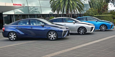 Toyota Mirai hydrogen trio moves to Australia