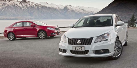Suzuki Kizashi range updated: new $29,990 driveaway entry point