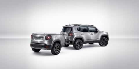 Jeep Renegade Hard Steel concept and matching trailer revealed
