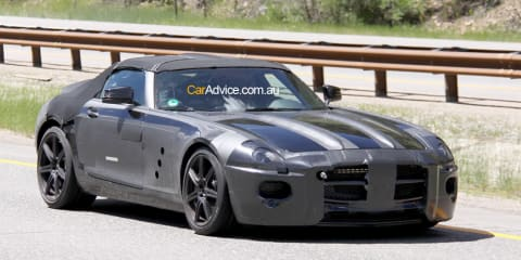 2010 Mercedes-Benz SLS spy pics