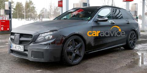 2015 Mercedes-Benz C63 AMG Estate spied