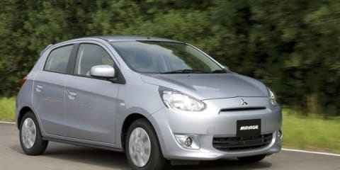 2012 Mitsubishi Mirage coming to Australia Q4 2012